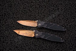 Нож Socom elite bronzed damascus set от Marfione customs