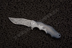 Нож Mongrel prototype damascus от Ken Onion