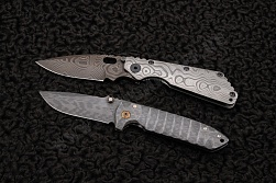 Нож Change places set one of a kind от Strider knives